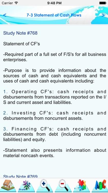 CPA  FAR 900 Quiz & Study note screenshot-3