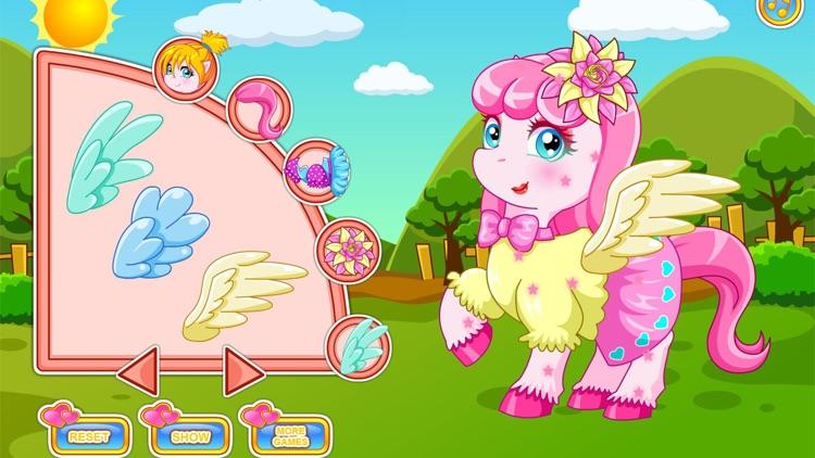 Pony doctor games screenshot-8