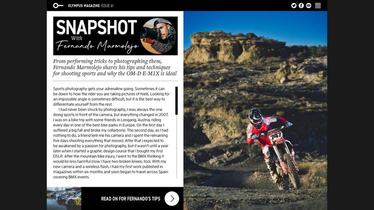 Olympus Magazine screenshot-4