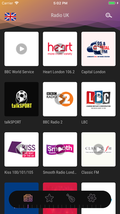 Radio UK - Live FM, AM Player screenshot one