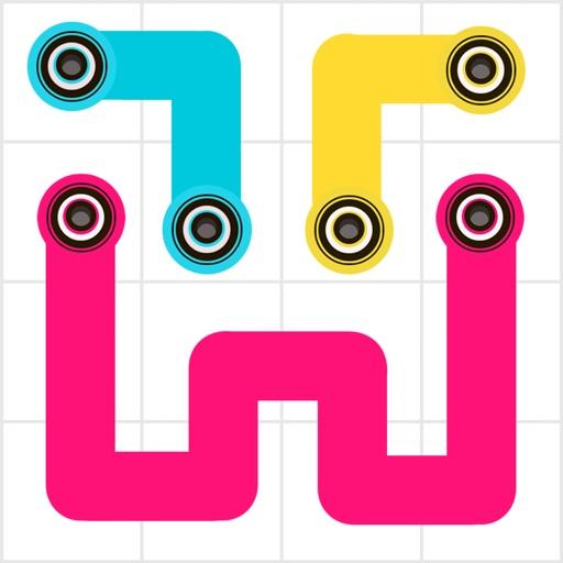 Line Flow - One Line Puzzle !
