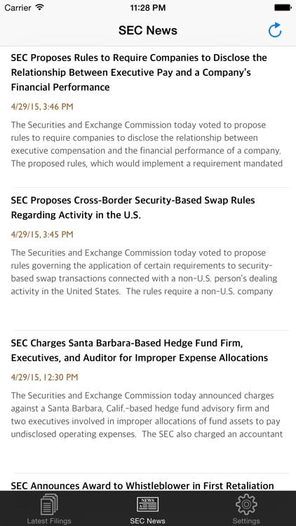 SEC Daily screenshot-4