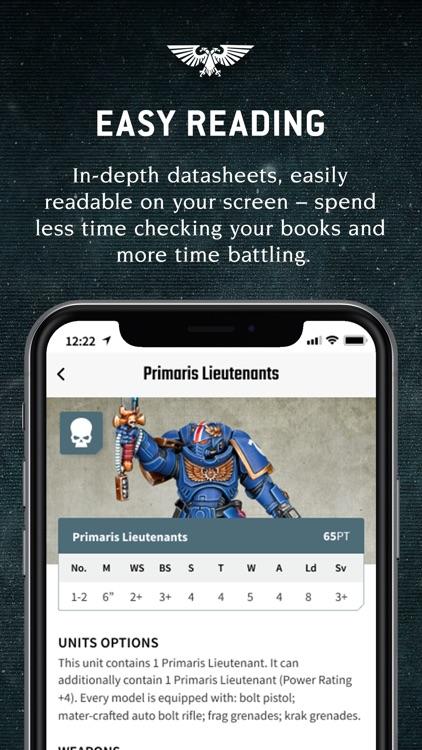 Warhammer 40,000 : The App screenshot-3
