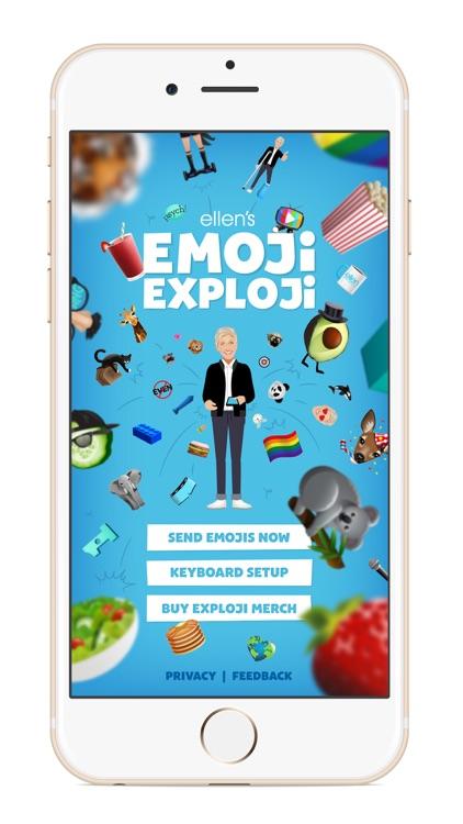 Ellen's Emoji Exploji screenshot-0