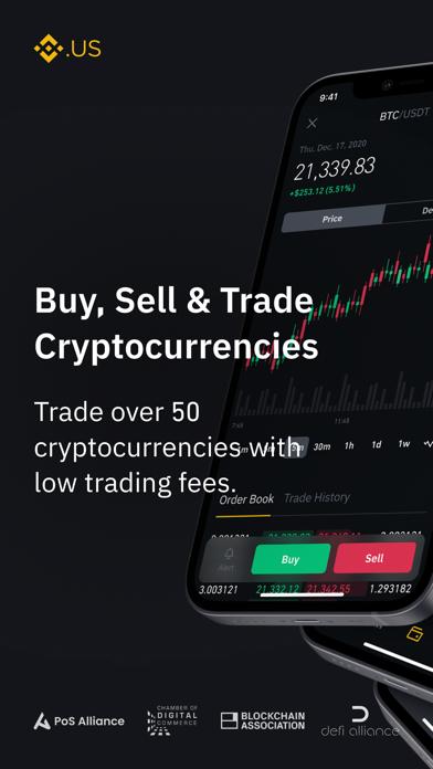 cancel Binance.US - Bitcoin & Crypto app subscription image 1