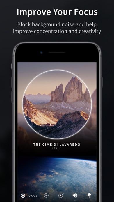 Screenshot of Portal - Focus, Sleep, Escape App