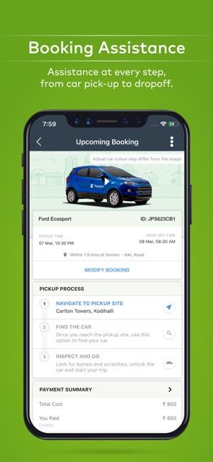 Car To Go >> Zoomcar Self Drive Cars App Storessa
