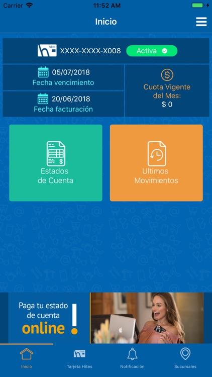 Tarjeta Hites screenshot-3