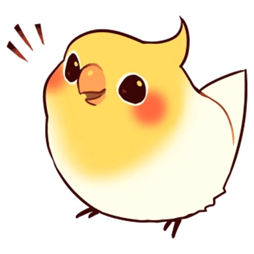 Beautiful Coca Bird icon