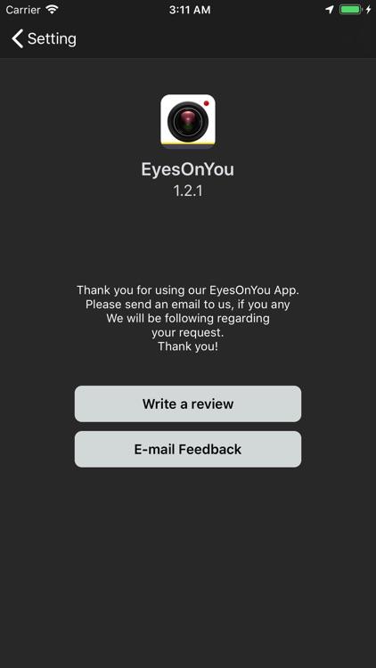 EyesOnYou DashCam Plus screenshot-3