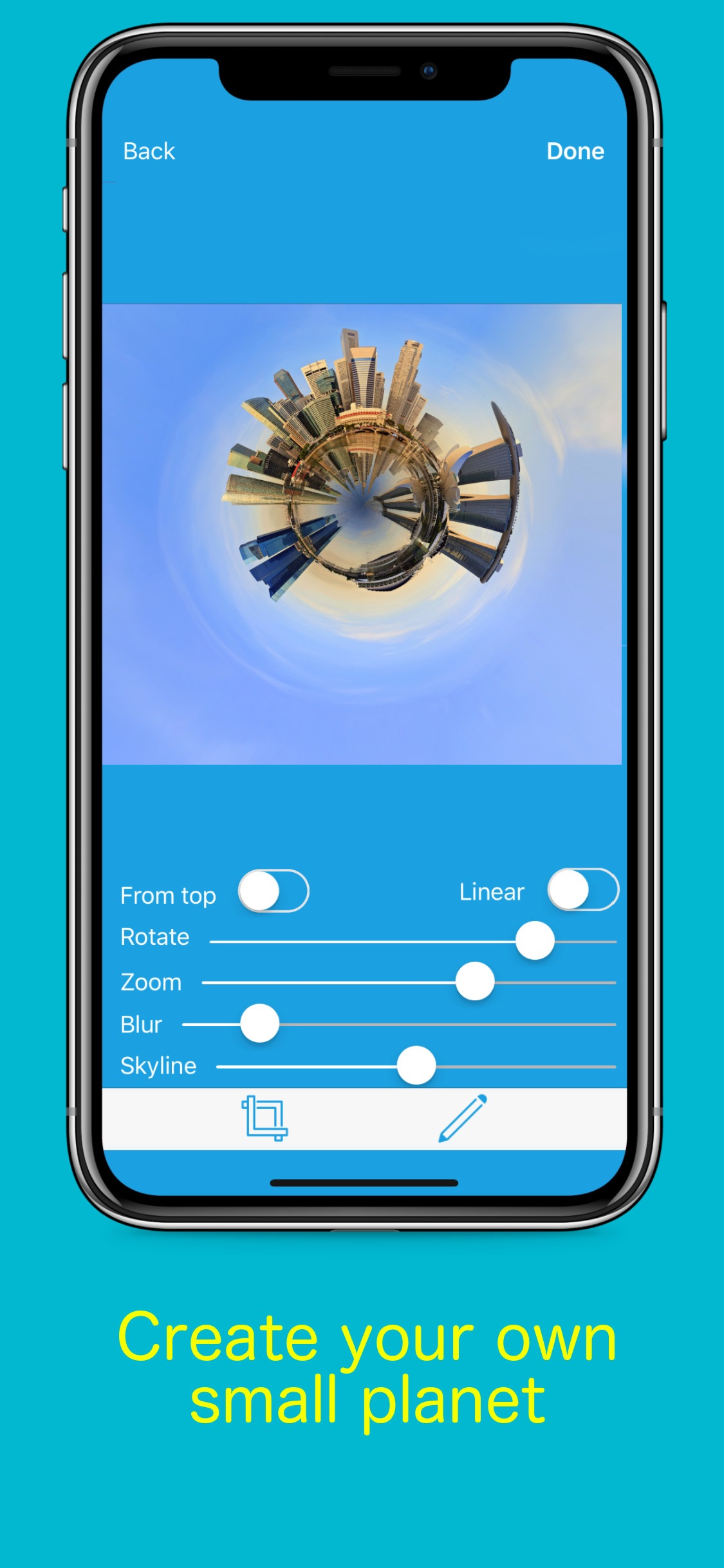 Screenshot do app Planetical