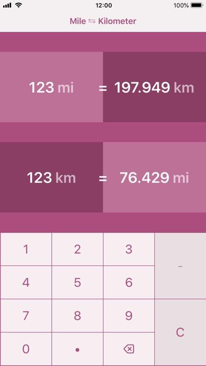 Miles to Kilometers   mi to km