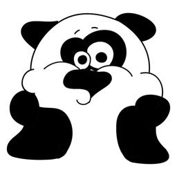 Panda Bear Sticker Collection