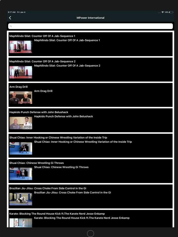 Ipad Screen Shot MPower International 1
