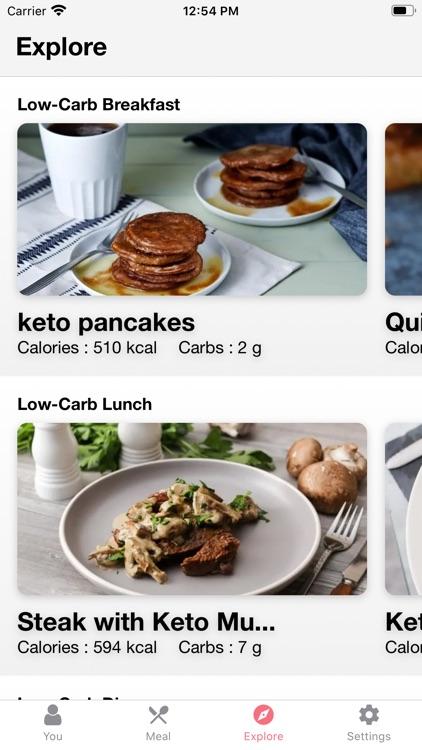 Low Carb Recipes & Diet Plans screenshot-4