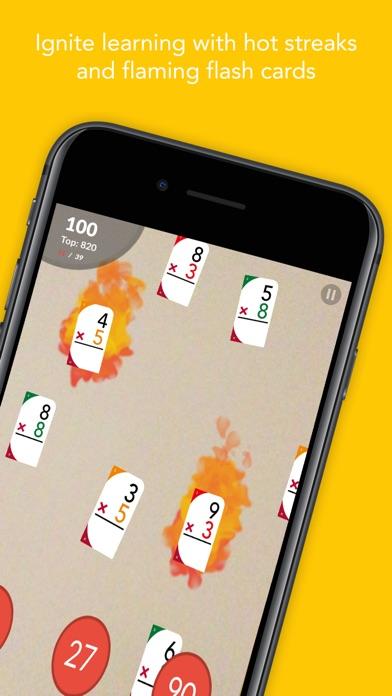 AR Multiplication Flash Cards app image