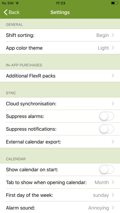 FlexR (Shift planner) screenshot-1