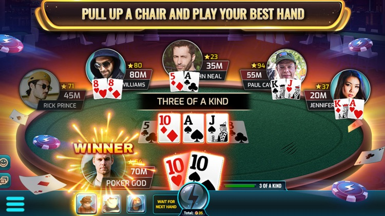 Wild Poker - Texas Holdem screenshot-2