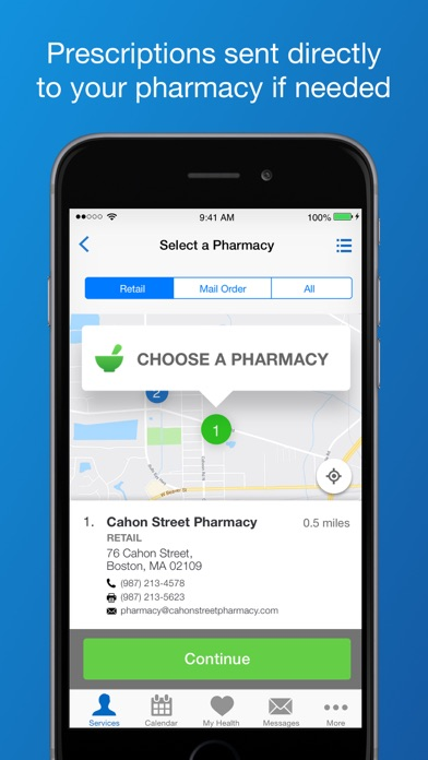 messages.download LiveHealth Online Mobile software