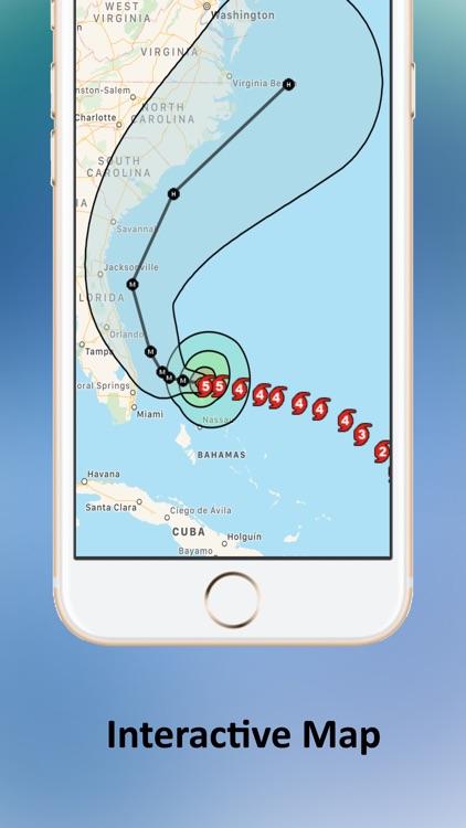 Tropical Hurricane Tracker screenshot-3