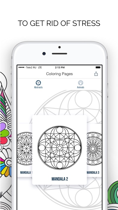 Coloring Pages For Adults Pro app image