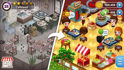 Cafeland - World Kitchen free Cash and Time hack