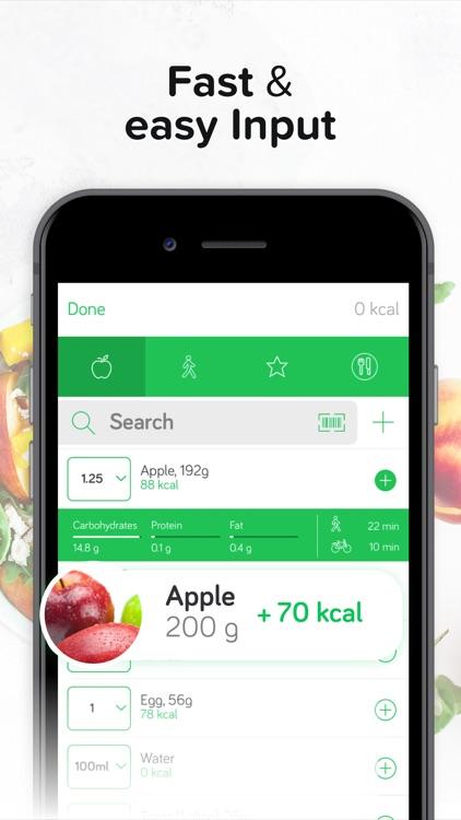 Calorie & Food Counter   Arise
