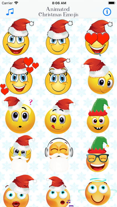 Telecharger Emoticone Noel Emoji Anime Pour Iphone Ipad Sur L App Store Divertissement