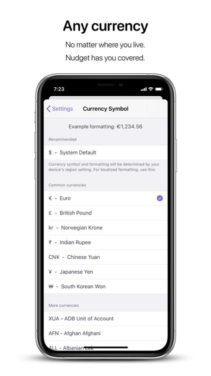 Nudget: Spending Tracker screenshot-6