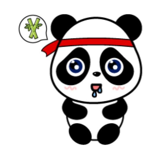 Panda baby Sticker