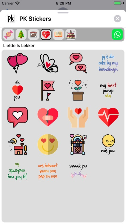 PK Stickers screenshot-4