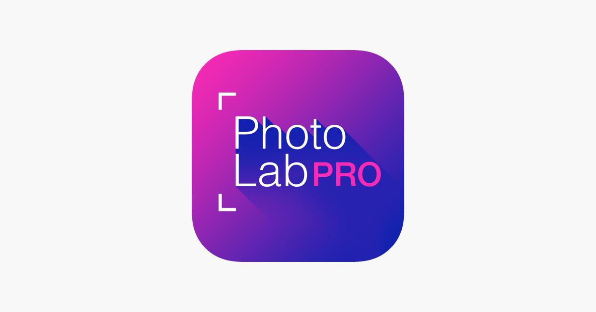 Photo Lab PRO HD: editor fotos na App Store