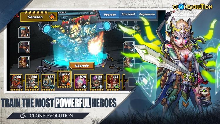 Clone Evolution: Cyber War