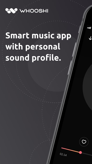 WHOOSHI Personal Audio Player