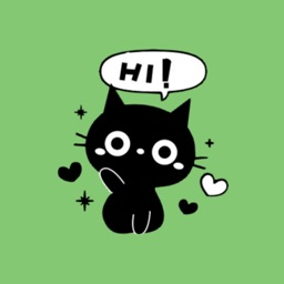 Black Cat Stickers packs
