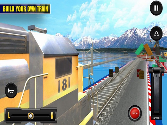 Driving Train On Impossible Tr screenshot 5