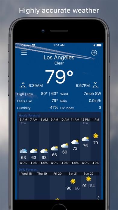MWeather - Weather Forecastのおすすめ画像1