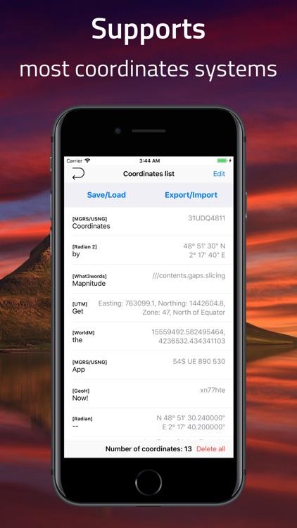 Coordinates - GPS Formatter screenshot-6
