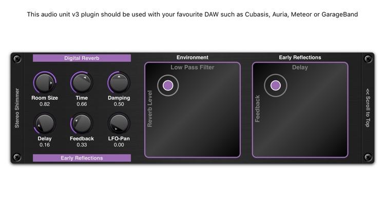 Shimmer AUv3 Audio Plugin screenshot-3