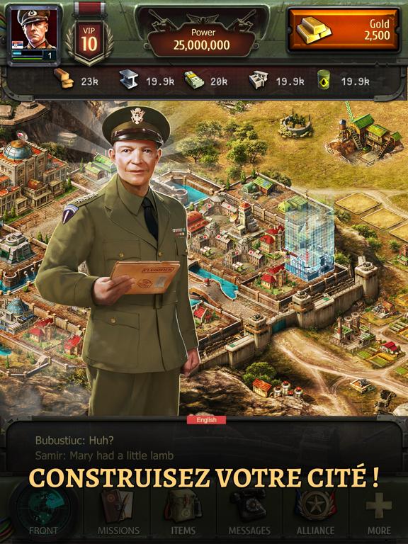 Screenshot #5 pour World at War: WW2 Strategy MMO