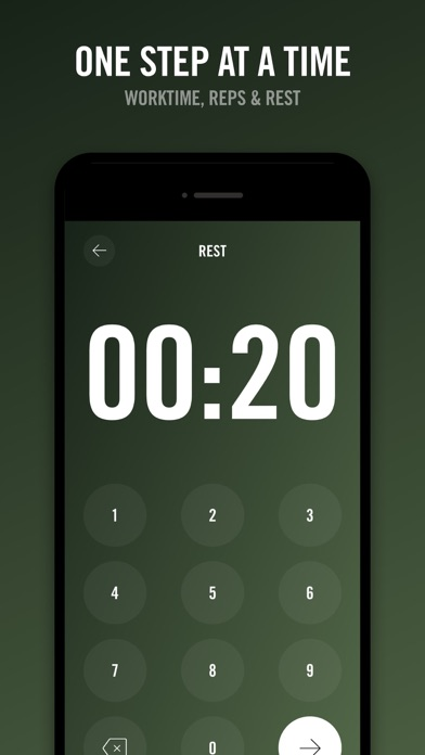 Screenshot for Reps - Workout Timer in Philippines App Store