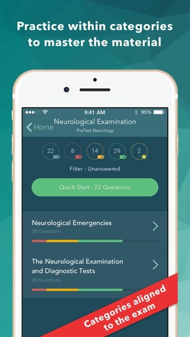 USMLE Neurology PreTest screenshot 3