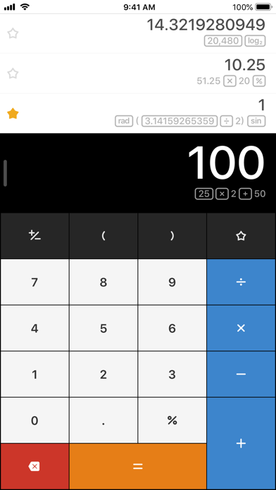 Calcbot — The Intelligent Calculator and Unit Converter screenshot