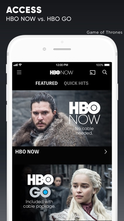 HBO NOW: Watch Game of Thrones screenshot-5