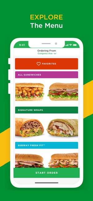 image relating to Printable Subway Menu referred to as SUBWAY® upon the Application Retail outlet