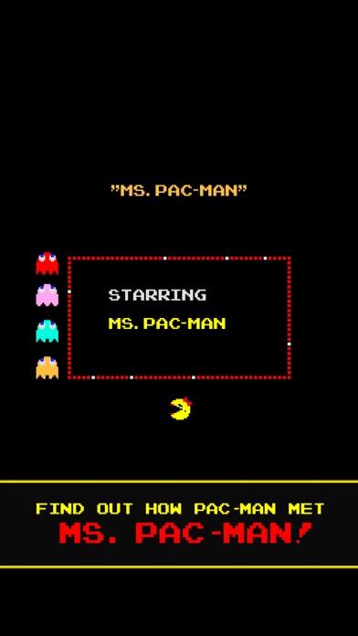 Screenshot from Ms. PAC-MAN