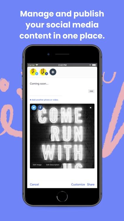 Buffer: Social Media Tools screenshot-0