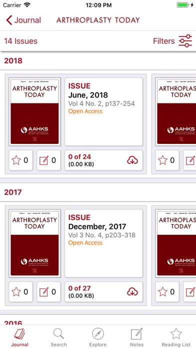 Arthroplasty Today screenshot 3