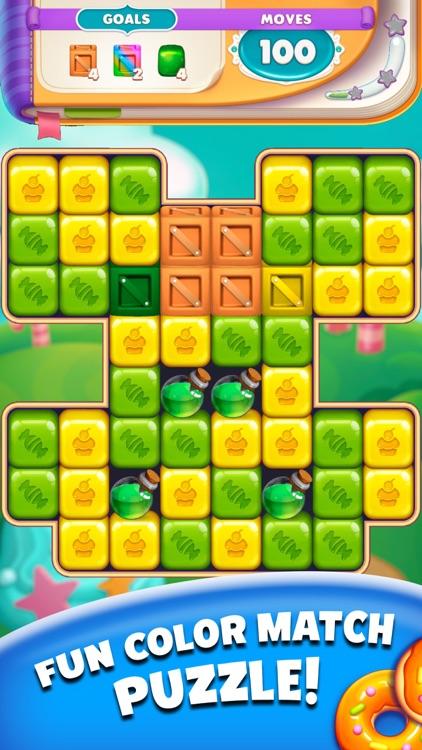 Cartoon Crush Pop Block Puzzle