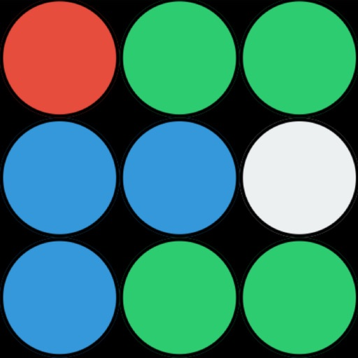 Color Crush Premium: a puzzle game about matching 3 bubbles or more with the same color